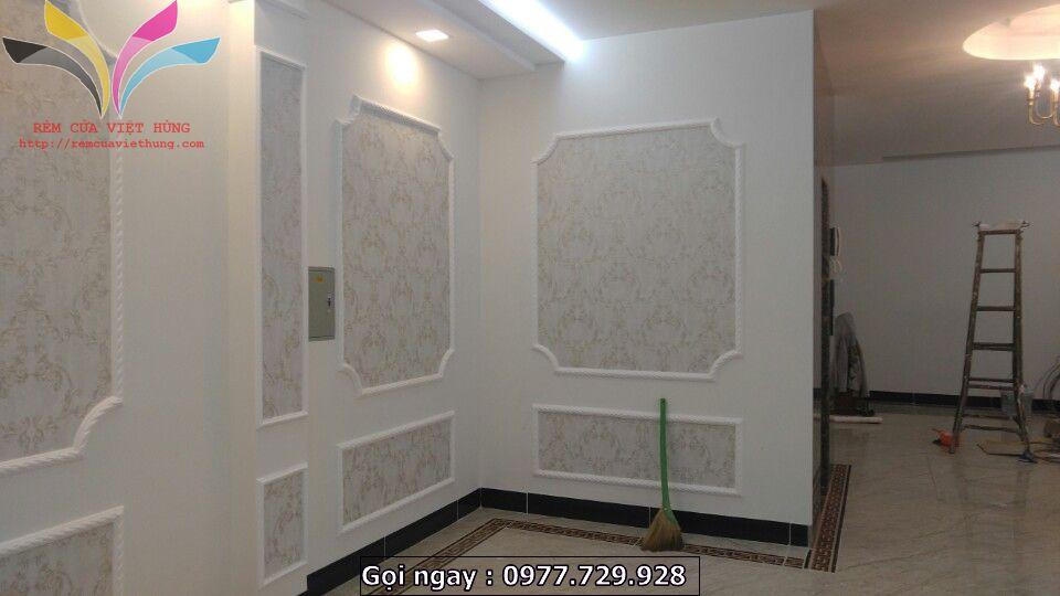Thi công giấy dán tường Tại Minh Khai