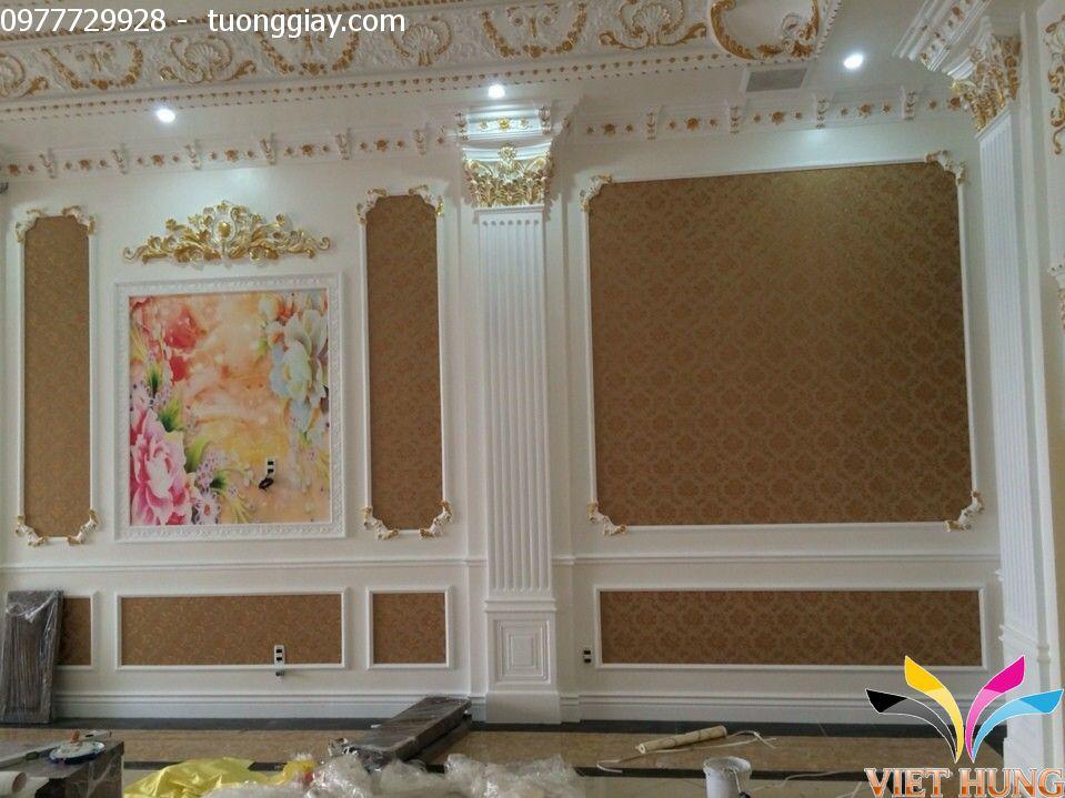 Thi công tranh dán tường đẹp tại Hà Nội 1