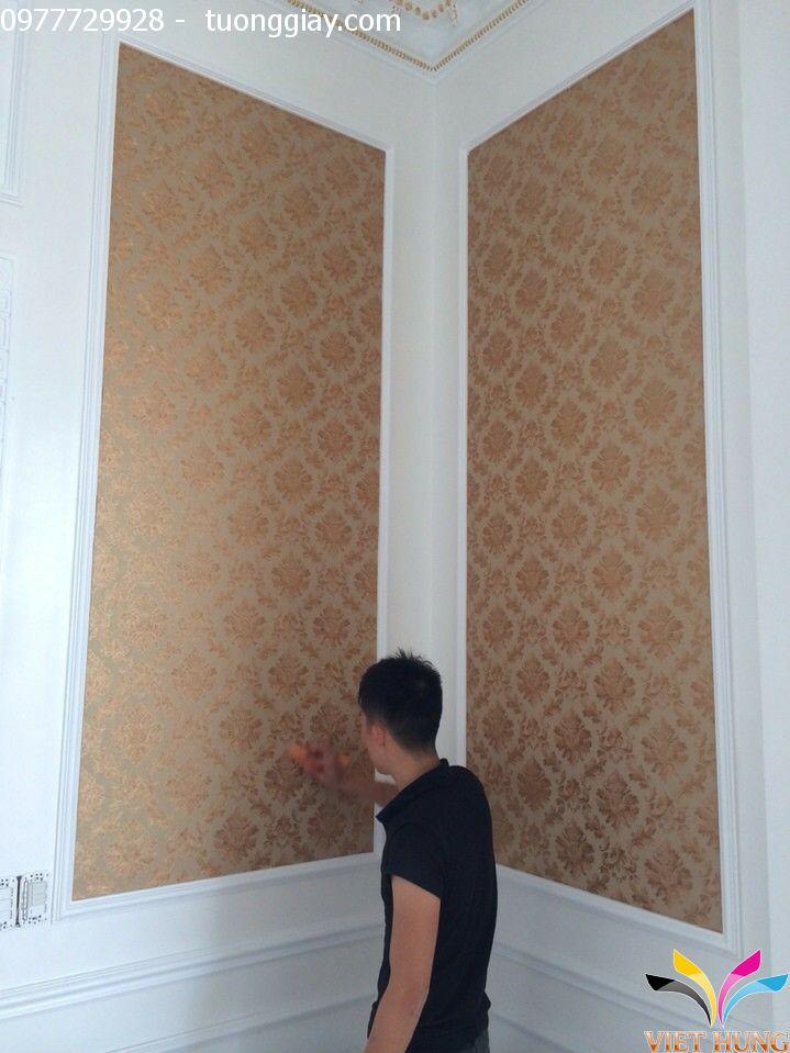 Thi công tranh dán tường đẹp tại Hà Nội 3