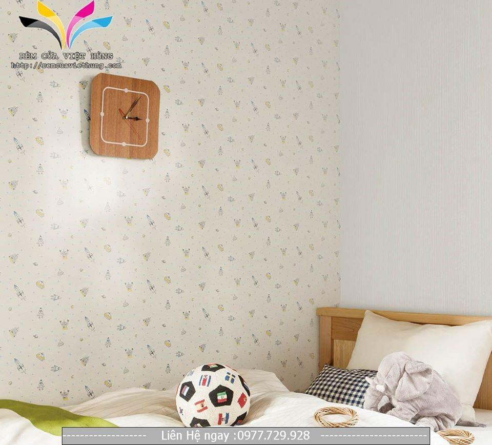 hướng dẫn dán giấy dán tường tại nhà